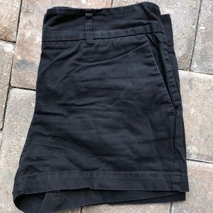 Ann taylor Loft Black Shorts.